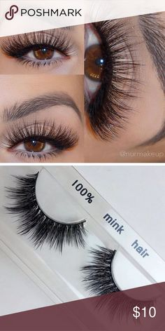 3D mink eyelashes •Brand new mink lashes (no brand) •100% real mink. •2 pairs for $20 •3 pairs for $25 THESE SELL FAST SO GRAB WHILE YOU CAN MAC Cosmetics Makeup False Eyelashes