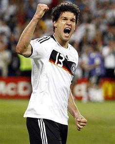 Michael Ballack, a towering figure in German football for the past decade, is no longer part of the national squad after 98 appearances for his country, the national federation (DFB) said on Thursday German Football Players, Germany Football Team, Germany Team, Good Soccer Players, Watch Football, World Football, Football Soccer, Football Moms, Michael Ballack