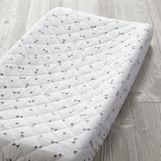 Shop Go Lightly Changing Pad Cover (Grey Triangle).  Don't go changing for us.  But if you do, you'll definitely want to check out our exclusive grey triangle Go Lightly Changing Pad Cover.