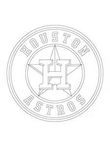 Click To See Printable Version Of Houston Astros Logo Coloring Page