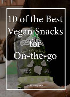 10 of the Best Vegan Snacks for On-the-go