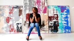 BINATIA – Galeristin Grace Denker präsentiert erstmals eigene Werke
