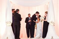Elegant Atlanta Hotel Modern Jewish Wedding//modern jewish wedding_mazel tov
