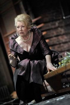 Charlotte Cornwell as Gertrude in Hamlet. Photo by Keith Pattison. RSC and I think alike apparently!