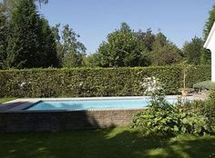 semi inground pools - Google Search