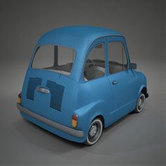 Fiat 600 Toon Car Model available on Turbo Squid, the world's leading provider of digital models for visualization, films, television, and games. Car 3d Model, Fiat 600, Modelos 3d, Van, Cartoon, Vehicles, Concept, Models, Car Wallpapers