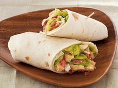 Cobb Salad Wraps #sandwich