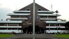 Gedung Andi Hakim Nasution, IPB, Bogor, Jawa Barat Bogor, Surabaya, University, Mansions, Elmo, House Styles, Wallpaper, Building, Target
