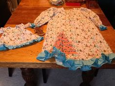 Nightie with matching one for 18 inch doll