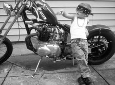 Kid Biker... Teehee... this is kind of cute