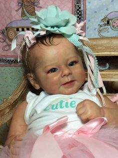 Greta by Andrea Arcello - Online Store - City of Reborn Angels Supplier of Reborn Doll Kits and Supplies