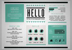 20 CV créatifs pour votre inspiration | WebdesignerTrends - Ressources utiles pour le webdesign, actus du web, sélection de sites et de tutoriels
