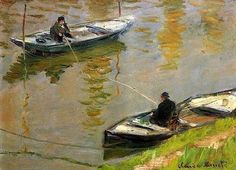 Claude Monet Two Anglers