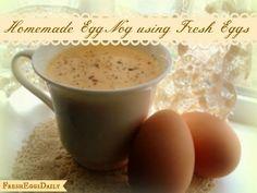 Fresh Eggs Daily®: Holiday Egg Nog made with Farm Fresh Eggs
