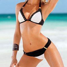 7292d9f326 Sexy Bikini Ladies Swim Wear Women Beach Dress Swimsuits Bikinifelsők,  Bikiniszett, Strandruha, Fürdőruha