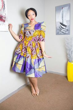 Hey, I found this really awesome Etsy listing at https://www.etsy.com/uk/listing/467532183/purple-african-print-dress-purple-dress