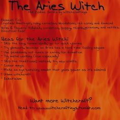 The #Aries #Witch: Garden of Ash & Bone