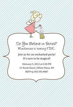 Custom water bottle label, custom favor label and custom invitation for a fairy themed birthday party. Fairy Birthday Party, Baby Girl Birthday, 1st Birthday Parties, Birthday Ideas, Princess Birthday, Birthday Gifts, Fairy Invitations, Custom Invitations, Birthday Party Invitations