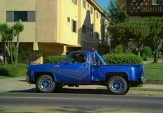 Jon From the TV series CHiP's his 77 GMC Sierra Classic