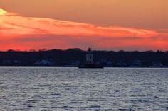 Barrington Town Beach & Lighthouse, Barrington, RI by nathanlimbach, via Flickr