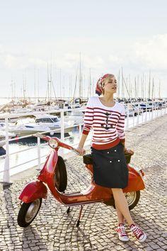 Perfekt gestylt für einen Ausflug ans Meer... #HSE24 #fashion #accessories