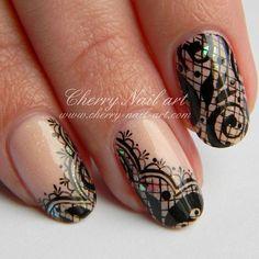 Instagram Nail Art Dentelle, Cherry Nail Art, Art Nails, Gemstones, Fashion Art, Instagram Posts, Beauty, Acrylic Paintings, Ongles