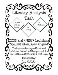 Research Simulation Task (PARCC): Essay Structure/Outline