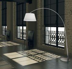 JENKYN Floor Lamp. Over-hang modern floor lamp with minimal light frame. Modern Floor Lamps, Overhanging Floor Lamp, Lamp, Modern, Minimal Lighting, Floor Lamp, Minimalist Lighting, Reading Lamp, Flooring