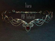 Tiara tutorial Wire Wrapped Diadem Tutorial elven circlet