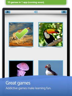Neat app to practice memorization. Sis is using it right now for number recognition 0-20 and Bean is practicing colors.