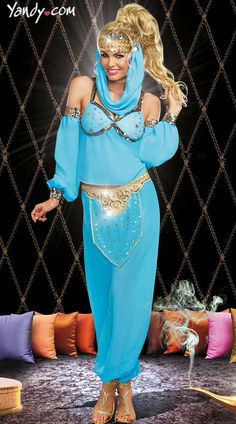 Genie In A Bottle Costume this year ;)