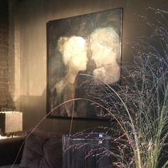 """"""" A strong bond """" (Inner beauty 4) 100x120 cm. @ Sober en Sjiek / Rhoon / NL"""