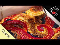 Mixed Media Painting: Sensory Playground,  Full Course / ART PROF - YouTube Acrylic Painting Techniques, Art Techniques, Bbq Squid, Mixed Media Painting, Art Tutorials, Playground, Youtube, Food, Children Playground