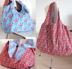 Charlie Bag / was eigenes Blog / DIY / Flamingos & CrissCross / Kamehameha by @hamburgerliebe