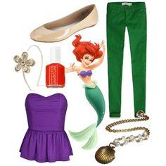 How to dress like a Disney princess ~ Ariel