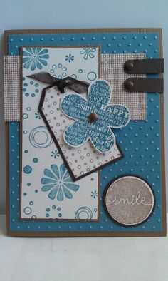 Blue Flowers Stampin Up