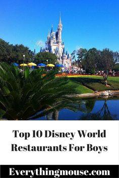 Top 10 Best Disney World Restaurants For Boys - EverythingMouse Guide To Disney