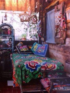 Boho /Bohemian style bedroom decor