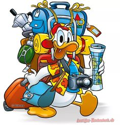 Walt Disney, Disney Duck, Disney Art, Duck Cartoon, Mickey Mouse Cartoon, Mickey Mouse And Friends, Donald Duck Characters, Cartoon Characters, Dagobert Duck