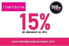 Porque siempre te ayudamos a que compres mejor, ¡te regalamos un cupón del 15% de descuento para Mandona Shop!  Conseguilo en este link: www.dondecomprarmejor.com/cupon-de-descuento-mandona