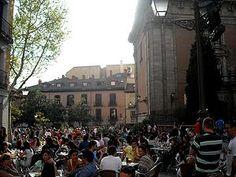 La Latina, Madrid. Favourite place for a vino al fresco.