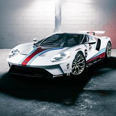 Ford GT with Martini Racing....