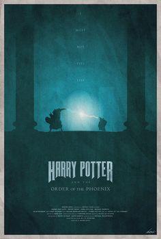 Mystical Illustrations Feature 'Harry Potter' Series In Dark, Subtle Style - DesignTAXI.com