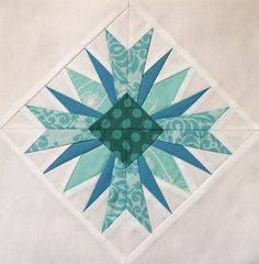 This is just an absolutely gorgeous block. So many possibilities for multiples in a quilt.