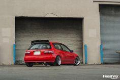 Honda Civic EJ (EG) with H22a swap - www.FreshFix.net - Adam O'Connor on Flickr