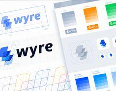 """다음 @Behance 프로젝트 확인: """"Wyre Branding"""" https://www.behance.net/gallery/50060049/Wyre-Branding"""