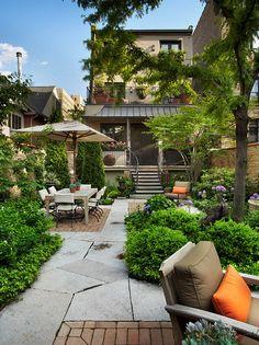 Small patio and garden design ideas
