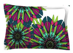 Bright by Alison Coxon Cotton Pillow Sham