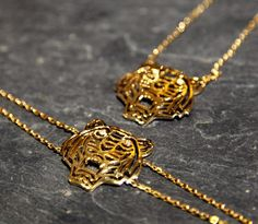 Does she have a wild side? Kenzo's fierce tiger necklace's will be a perfect match #LibertyChristmas #GiftsForHer