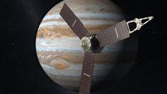 NASA: Космический зонд Juno вошел в магнитосферу Юпитера